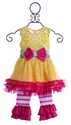 Giggle Moon Tutu Dress Sweet as Honey