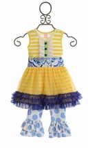 Giggle Moon Tutu Dress with Capri Pant Set Heaven Sent
