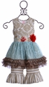 Giggle Moon Wedding Bells Tutu Dress with Legging