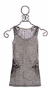 Girls Miss Me Top Fleury Cross Tank Top