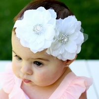 Hair Blooms Angel Eyes Infant Girls Headband