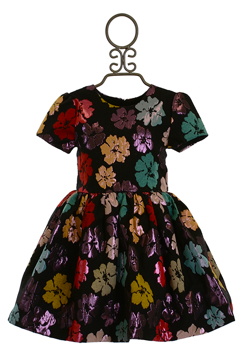 Halabaloo Dress For Girls Floral Print Sold Out