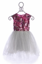 Halabaloo Elegant Sparkle Tutu Dress for Little Girls