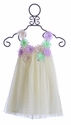 Halabaloo Garden Party Ivory Girls Dress