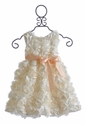 Halabaloo Ivory Dress Flower Girl