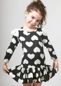 Halabaloo Little Girls Heart Dress