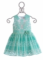 Halabaloo Mint Lace Dress