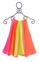 Halabaloo Neon Rainbow Dress for Girls