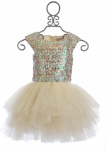 Halabaloo Sequin Tutu Dress