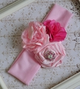 Handmade Girls Pink Headband