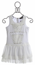 Hannah Banana Couture Dress for Tweens in White (Size 14)