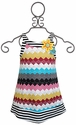 Hannah Banana Girls Chevron Dress