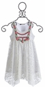 Hannah Banana Girls Lace Dress in Ivory