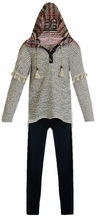 Hannah Banana Girls Sweater with Leggings for Girls