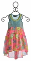 Hannah Banana Little Girls Chiffon Dress