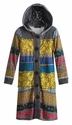 Hannah Banana Long Tween Sweater with Mixed Patterns