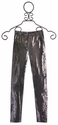 Hannah Banana Metallic Leggings for Tweens in Bronze