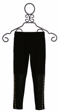 Hannah Banana Studded Black Legging