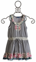 Hannah Banana Truly Me Sleeveless Stripe Dress