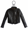 Hannah Banana Tween Faux Pleather Jacket