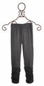 Hannah Banana Tween Girls Gathered Gray Legging