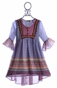 Hannah Banana Tween Hi Low Dress in Berry