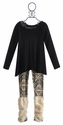Hannah Banana Tween Hi-Low Tunic with Legging