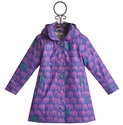 Hatley Girls Cute Rain Jacket with Elephants