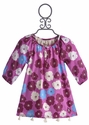 Hatley Little Girls Tunic Pink Poppies