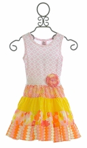 Haute Baby April Showers Twirlie Dress (12Mos & 5)