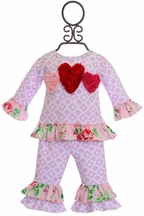 Haute Baby Be Mine Swing Set (0-3Mos,12Mos,18Mos,24Mos)