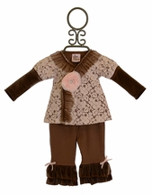 Haute Baby Cocoa Chic Infant Outfit