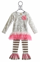 Haute Baby Dream Puff Tunic Set