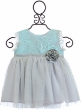Haute Baby Elsa's Magic Baby Dress