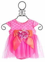 Haute Baby Fancy Baby Dress April Bloom (Size 24Mos)