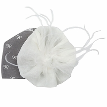 Haute Baby Fashion Flower Hat with Bows