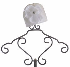 Haute Baby Feathered Infant Hat