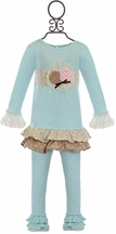 Haute Baby Girls Felicity Tunic Dress (2T,3T,4,5)