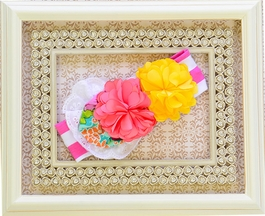 Haute Baby Girls Headband Summer Sizzle