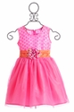 Haute Baby Girls Dress in April Bloom (4, 5, 6 & 7)