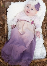 Haute Baby Girls Vintage Gown