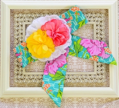 Haute Baby Headwrap with Flowers