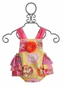 Haute Baby Infant Bubble Romper Honey Child