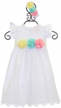 Haute Baby Infant Gown Ella's Bouquet