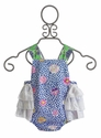 Haute Baby Infant Sunsuit Garden Party