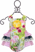Haute Baby Kaylee's Bouquet Sunsuit