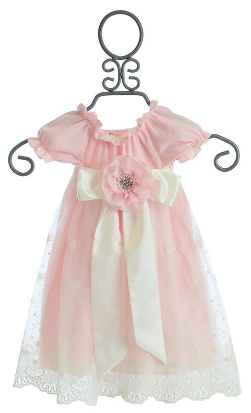Haute Baby Lacey Rose Baby Gown Sold Out