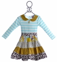 Haute Baby Little Girls Dress Vintage Twirl