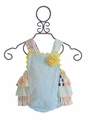 Haute Baby Mint Julep Sunsuit