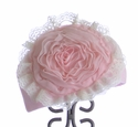 Haute Baby Newborn Hat Pretty in Pink